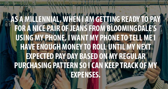millenials user story